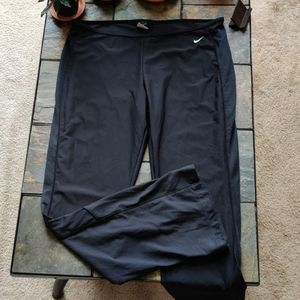 Nike Dri Fit Black Athletic Pants Yoga Style XL